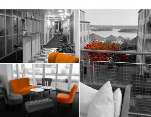 Välkommen till vårt kontor i Nacka Strand